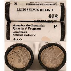 Great Basin National Park Uncirculated Quarter Rolls  (119776)