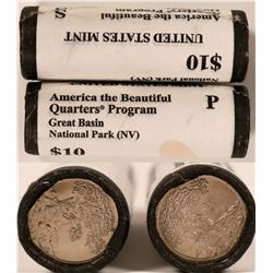 Great Basin National Park Uncirculated Quarter Rolls  (119776)