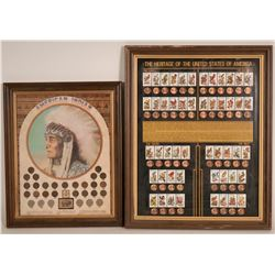 Coins in Commemorative Frames  (108793)