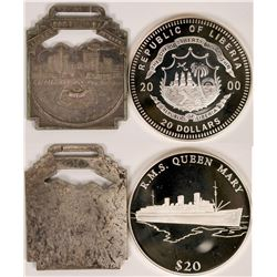 Two Long Beach Medals  (119080)
