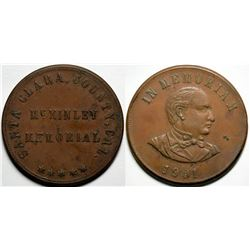 President William McKinley Memorial Medal  (118066)