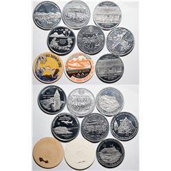 Hawaiian Transportation Series Medals  (119065)