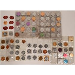 Mardi Gras Medallions and tokens  (118124)