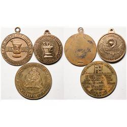 Drug Store Medallions  (119320)