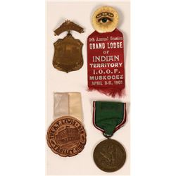 Four Early 1900's Medals  (118058)