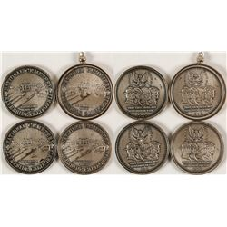 Four Riverside National Cemetary Coins/Pendant  (80205)