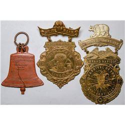Souvenir Medals   (118017)