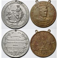 Two Early 1900s Medals  (118835)