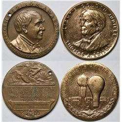Two Thomas Edison Medals  (118816)