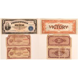 "Phillipines ""Victory"" Note and Others  (116133)"
