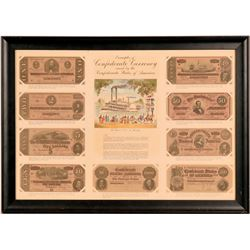 Confederate Currency (Repro) Frame  (115505)