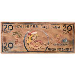 Hollister Cali Cash Scrip  (119723)