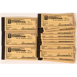 WH Acklin Store Mining Scrip  (113256)