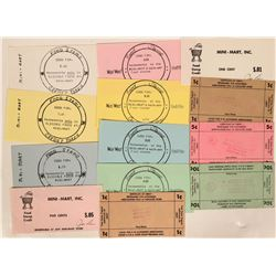 Wyoming Grocery Scrip Collection  (119108)