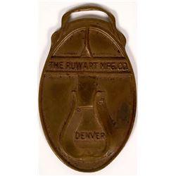 Denver, Colorado Pictorila FOB for Ruwart Manufacturing  (112058)