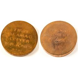 Copper Presentation Disc  (58040)