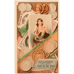 San Francisco Coin Trade Card  (116722)