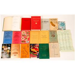 Coin collecting books collection  (116847)