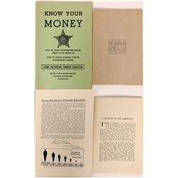 Two Publications about Currency, One Rare  (118869)