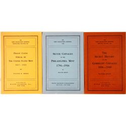 Walter Breen Coin Collector's Journal Pamphlets  (85564)