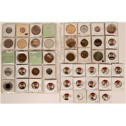 Eisenhower Campaign Pin Backs & Medallions  (119059)