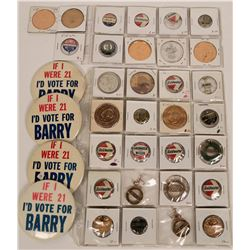 Barry Goldwater Campaign Pin Backs  (118134)