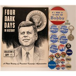 Kennedy Tribute and Campaign Items  (118812)