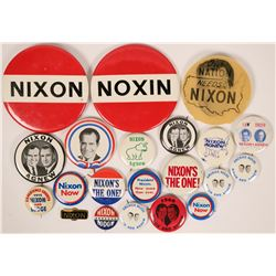 Nixon Campaign Buttons  (118069)