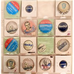 Rockefeller Campaign Pin Backs  (119057)