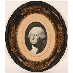 George Washington B/W Portrait  (116208)