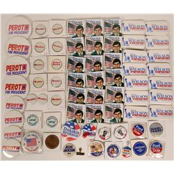 A Cluster of Campaign Pin Backs  (119058)