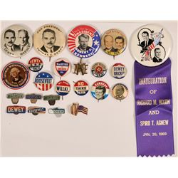 Presidential Campaign Buttons & Badges  (118815)