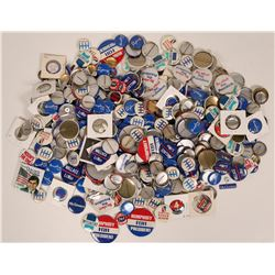 A Box Full of Candidate Pin Backs  (119637)