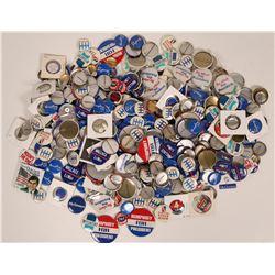A Box Full of Candidate Pin Backs  (119637)