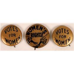 Women's Rights Pinbacks  (118823)