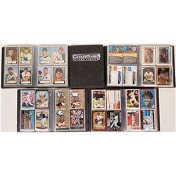 Five Baseball Card Albums  (118258)