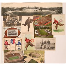 Historical Football Postcards  (119698)