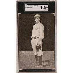 Jerome Downs 1909 Baseball Postcard  (119211)