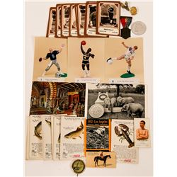Collection of Sports Memorabilia Trading Cards  (117332)