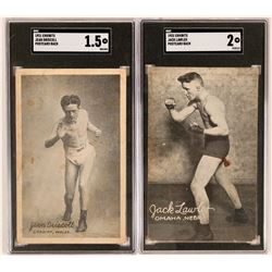 Exhibits 1922 Driscoll & Lawler Cards  (119258)