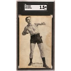 Light Heavyweight Jack O'Brien Exhibit Card  (119259)