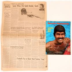 Mark Spitz on the cover of Sports Illustrated   (116863)