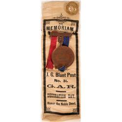 Civil War GAR Ribbon  (118245)