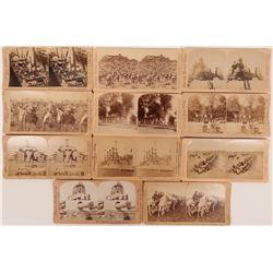 Stereoscopic Photographs Military Wars  (117288)