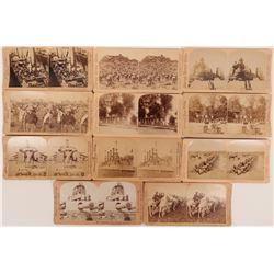 Stereoscopic Photographs Military Wars  (117288)
