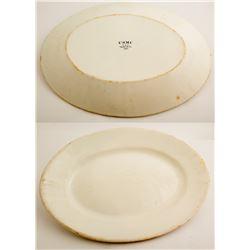 Vintage U.S.M.C. Platter  (49001)