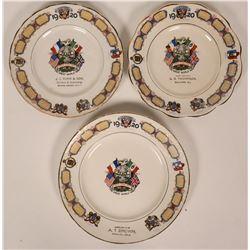 WWI Souvenir Plates  (119544)