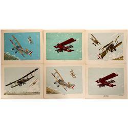 WWI aircraft prints  (109444)