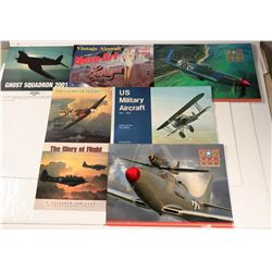 Collection of Aircraft Calendars  (108995)