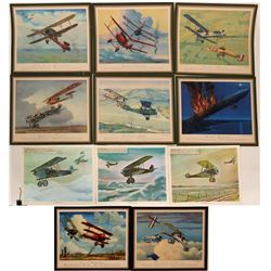 Various WWI Aircraft prints Charles Hubbell  (109441)